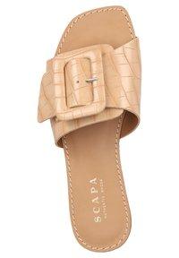 Scapa - Domácí obuv - beige - 3