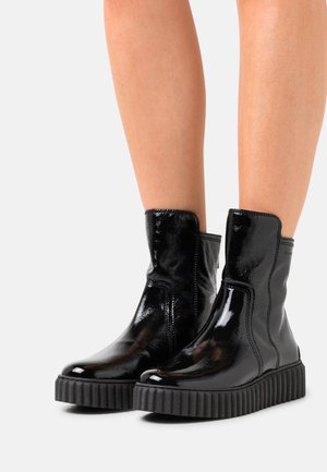BIANCA  - Platform ankle boots - black