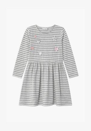 Jersey dress - grau