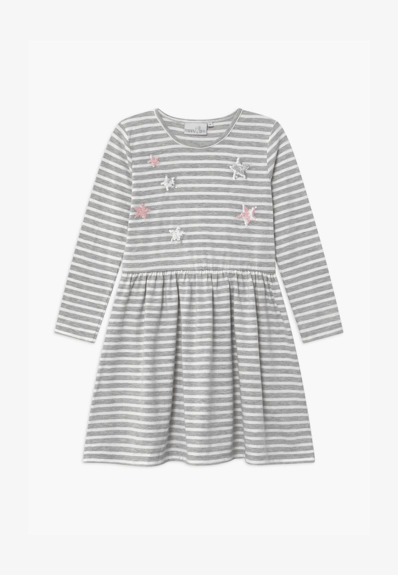 happy girls - Jersey dress - grau
