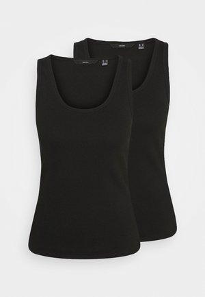 VMJESSICA TANK 2 PACK - Top - black/black