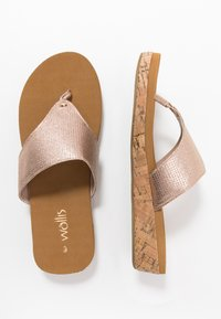 Wallis - SUNSET - Chaussons - rose gold - 1