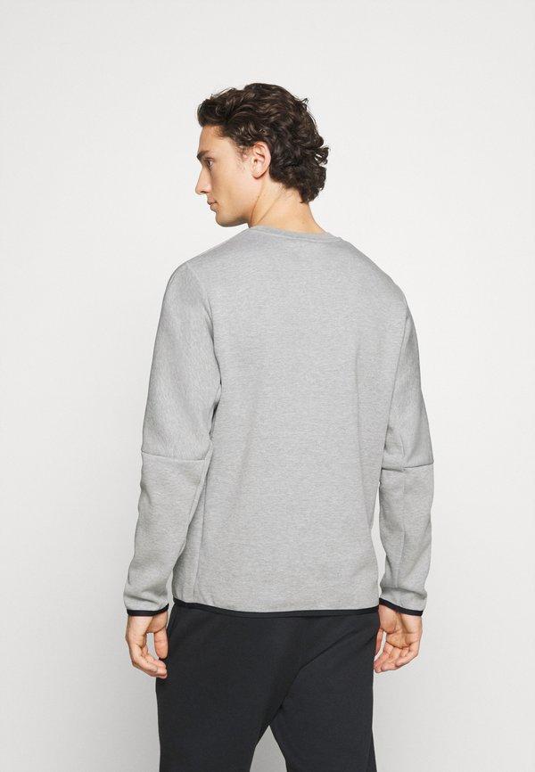 Nike Sportswear Bluza - grey heather/black/ciemnożÓłty Odzież Męska AJJA