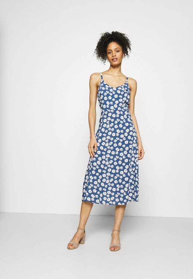 CAMI MIDI - Day dress - blue