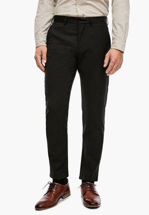 CESANO - Suit trousers - dark olive