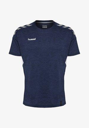 TECH MOVE - T-shirts print - marine melange