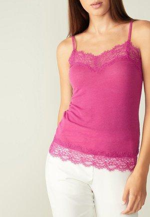 Pyjama top - rosa - glossy purple