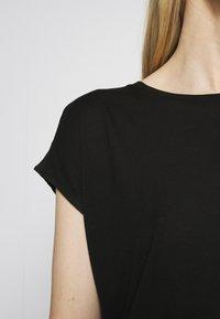 Opus - SALMI - Print T-shirt - black - 4