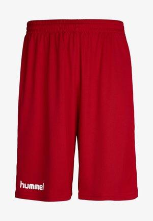 CORE BASKET - Träningsshorts - true red