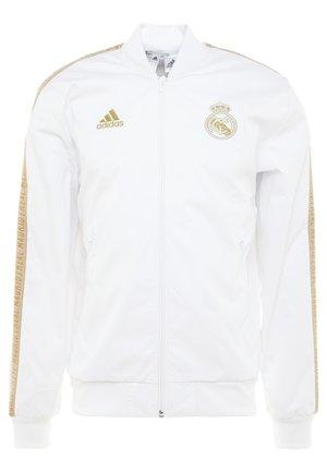 REAL MADRID ANTHEM JKT - Club wear - white