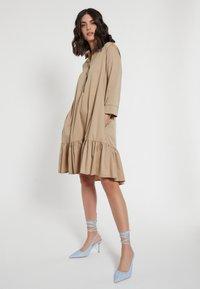 Ana Alcazar - Shirt dress - beige - 3