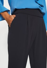 Wallis Petite - PULL ON TROUSER - Trousers - navy - 6