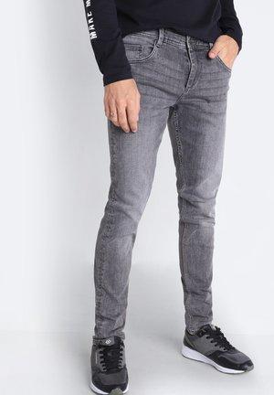 Slim fit jeans - grey denim