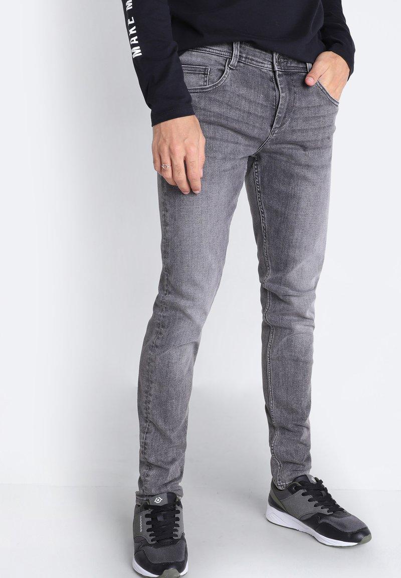 BONOBO Jeans - Slim fit jeans - grey denim