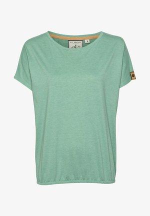 JACKY COLA - Basic T-shirt - grünmeliert
