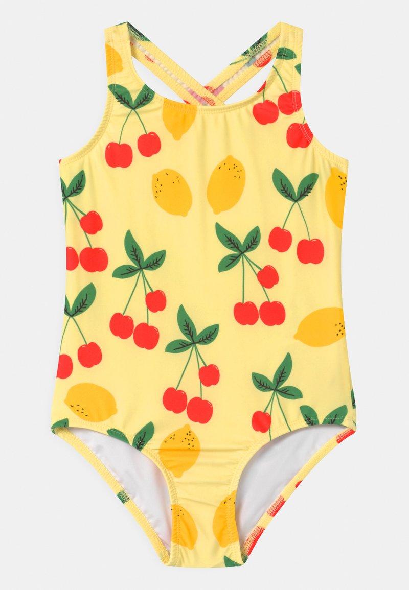 Mini Rodini - CHERRY LEMONADE  - Swimsuit - yellow