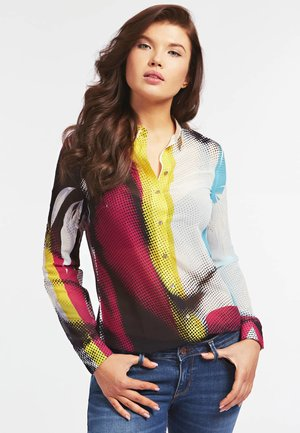 CLOUIS  - Hemdbluse - gemustert multicolor