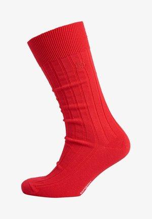 Socks - mars red