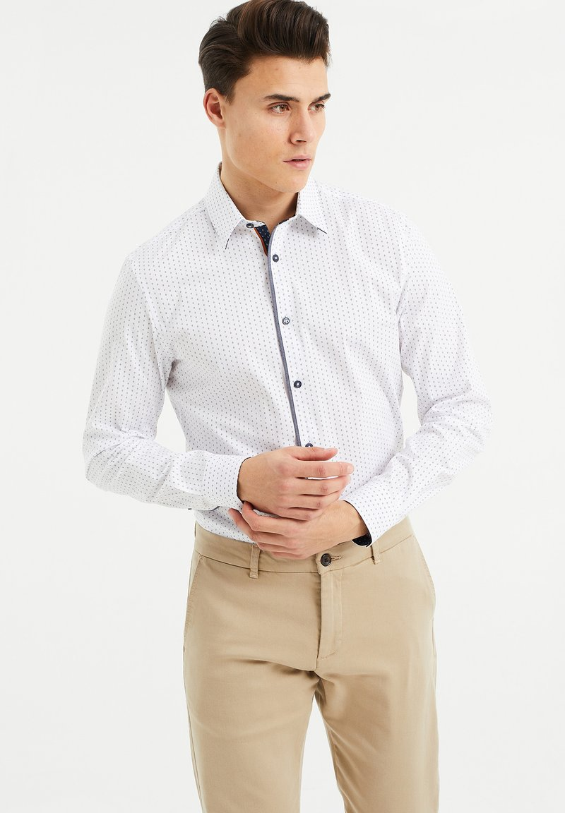 WE Fashion - SLIM FIT  - Overhemd - all-over print