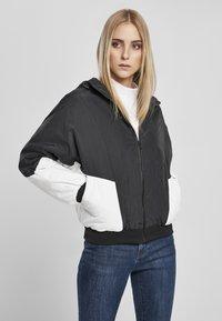 Urban Classics - Bomber Jacket - black/white - 0