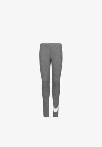 FAVORITES - Leggings - Trousers - carbon heather / white