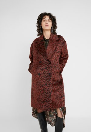 MARCA - Classic coat - rust/copper
