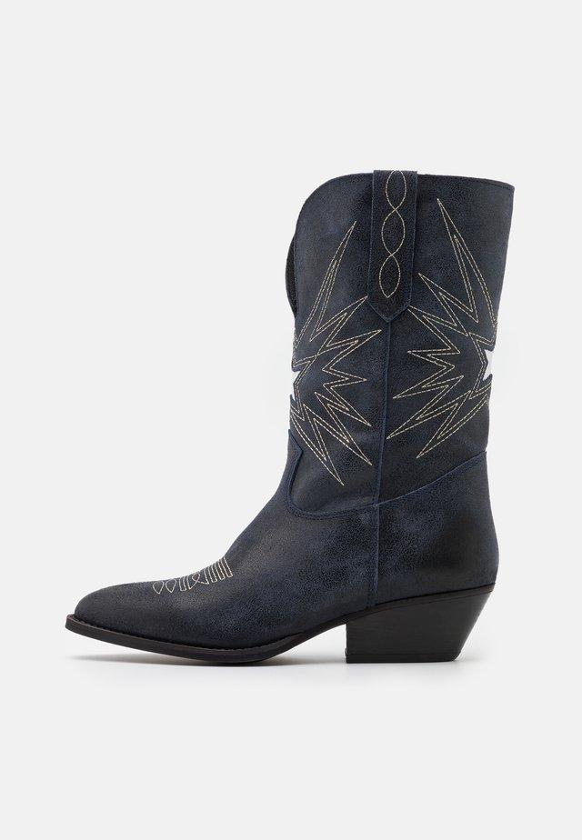 Cowboystøvler - ink