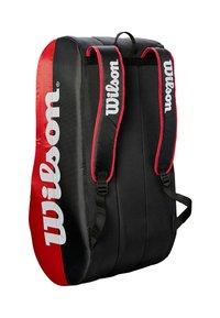 Wilson - Racket bag - black/red - 1