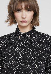 Topshop - SPOT PRINT CHUCK - Maxi dress - black - 3