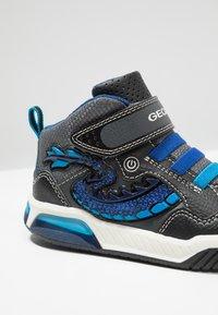 Geox - INEK BOY - Sneaker high - black/royal - 5