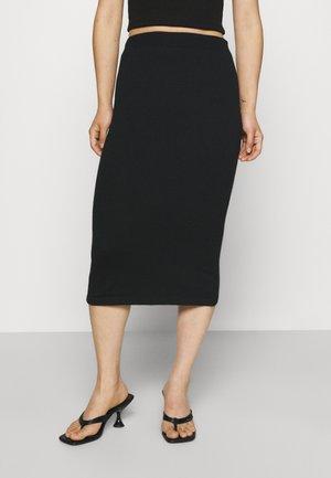 VICOMFY SKIRT - Pouzdrová sukně - black