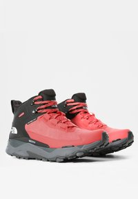 The North Face - VECTIV EXPLORIS MID FUTURELIGHT - Hiking shoes - fiesta red/tnf black - 3