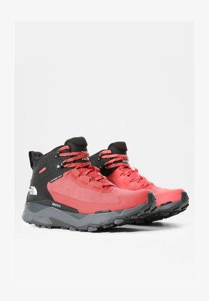 W VECTIV EXPLORIS MID FUTURELIGHT - Zapatillas de senderismo - fiesta red/tnf black