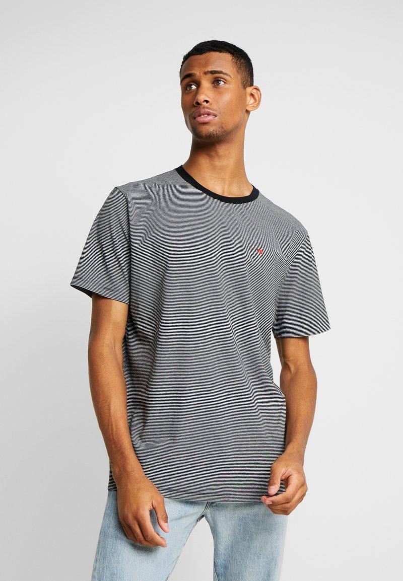Scotch & Soda - CLASSIC CREWNECK TEE - Print T-shirt - grey