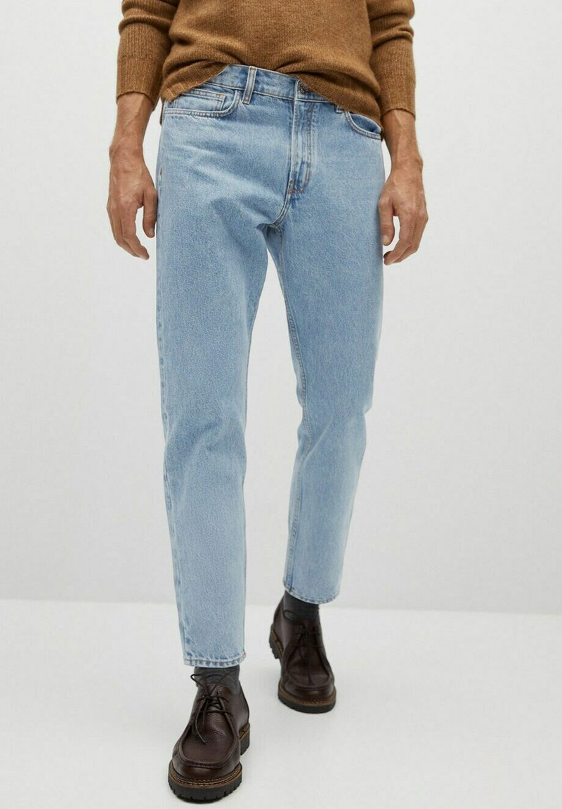 Mango - BEN - Straight leg jeans - hellblau