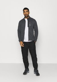 CMP - MAN JACKET - Fleecová bunda - grey/antracite/nero - 1