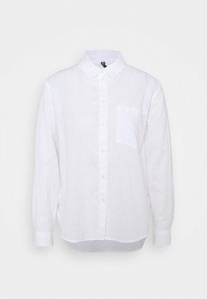 PCPARLEE SHIRT - Skjorte - bright white
