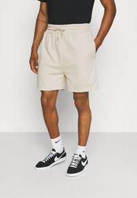 Sixth June - SIGNATURE LOGO SHORT - Shorts - beige - 0