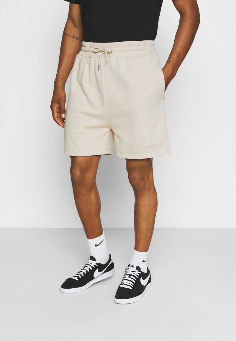 Sixth June - SIGNATURE LOGO SHORT - Shorts - beige