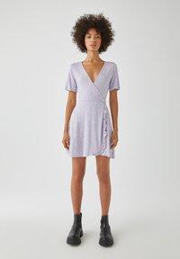 PULL&BEAR - Day dress - purple - 1