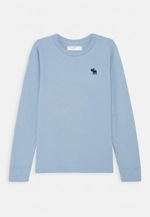 BASIC - Top s dlouhým rukávem - light blue