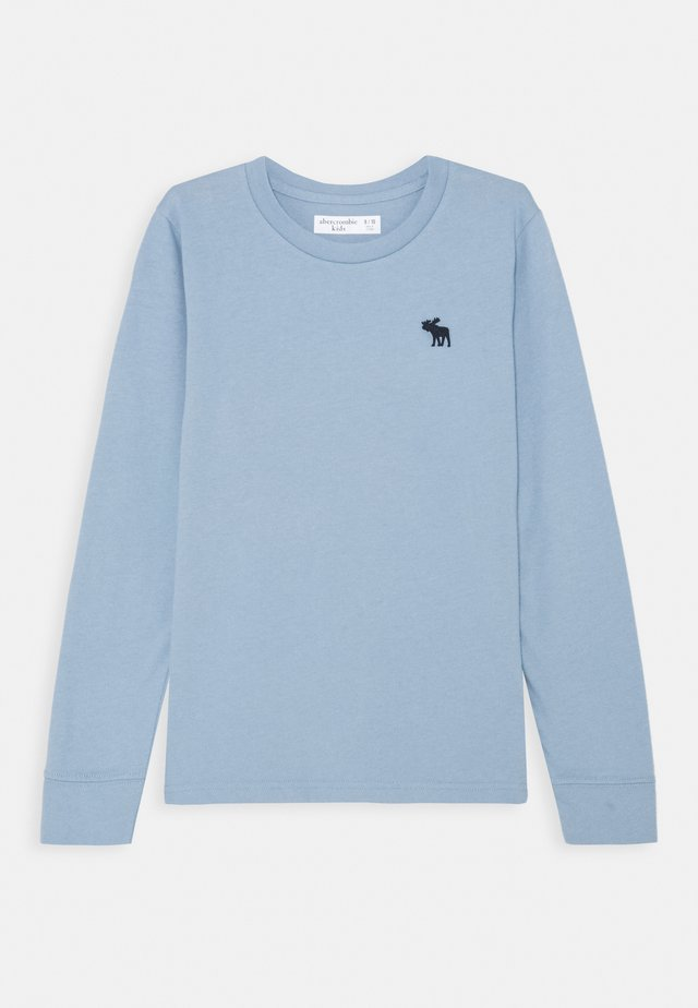 BASIC - Topper langermet - light blue