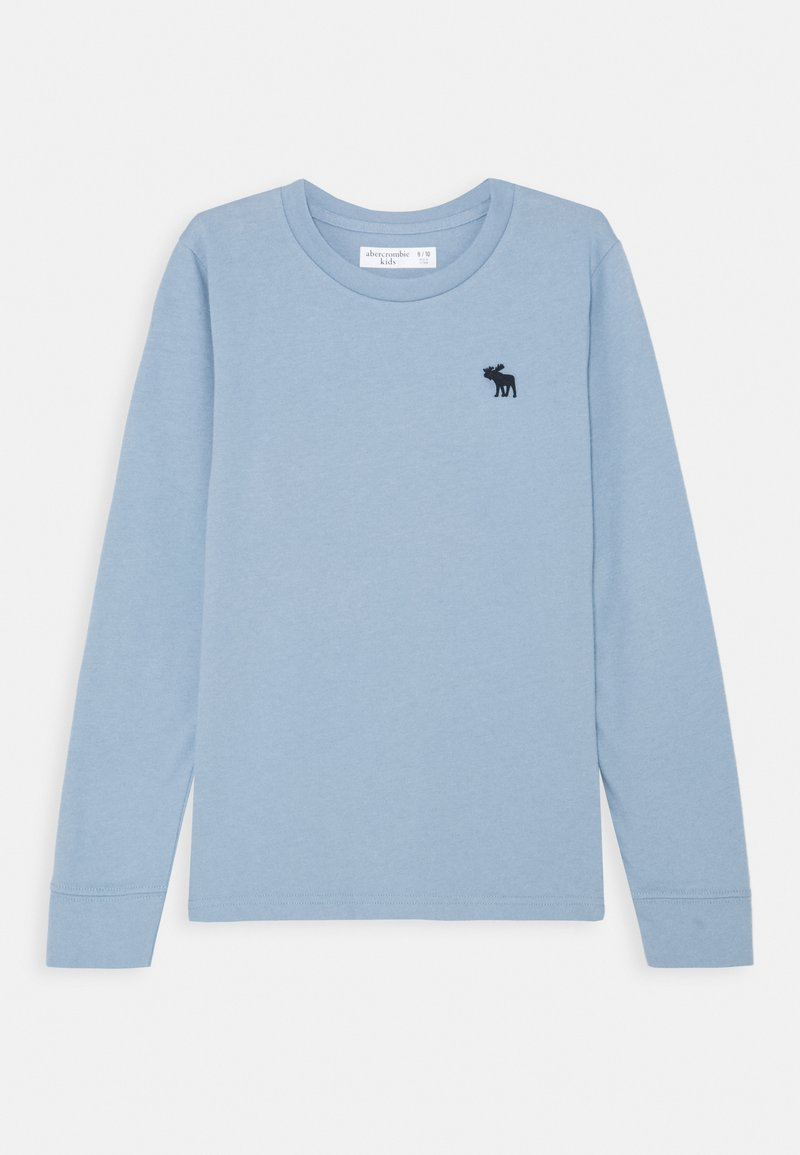 Abercrombie & Fitch - BASIC - Long sleeved top - light blue