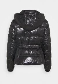 River Island Petite - HAMILTONQUILTED DOUBLE ZIP  - Winter jacket - black - 2