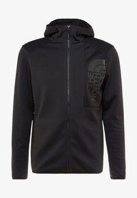 The North Face - MERAK HOODY - Fleecetakki - black - 3