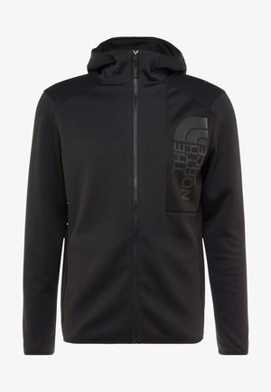MERAK HOODY - Fleecejas - black