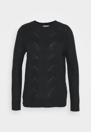 POINTELLE - Jumper - black