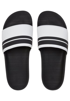 RIVI SLIDE - Pool slides - white/black/white