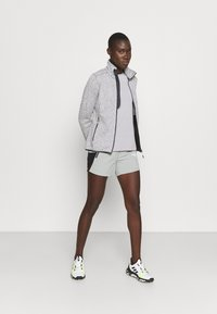 CMP - WOMAN JACKET - Fleece jacket - grey/bianco - 1