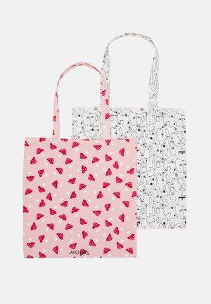MAJA 2 PACK - Shoppingveske - pink dusty